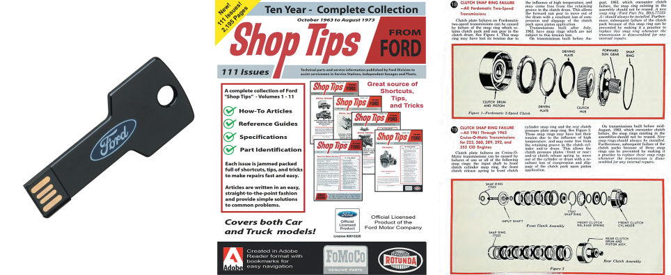 Ford Shop Tips Magazine - USB