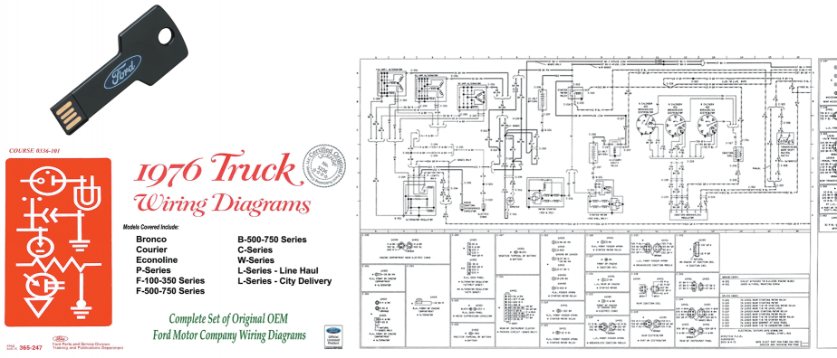 Ford Truck Wiring Diagrams - USB