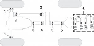 Universal Joints - 4 Wheel Drive