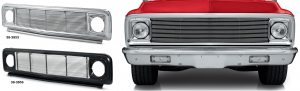 1971-72 Custom Grille Chevrolet