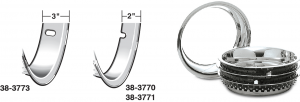 Wheel Trim Ring Set