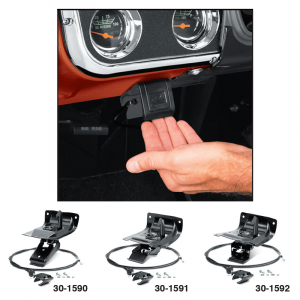 Hood Latch Assembly with Inside Cable Release ... Protection and Convenience for Your Truck