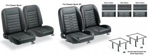 Pro Classic Sport Bucket Seat Sets