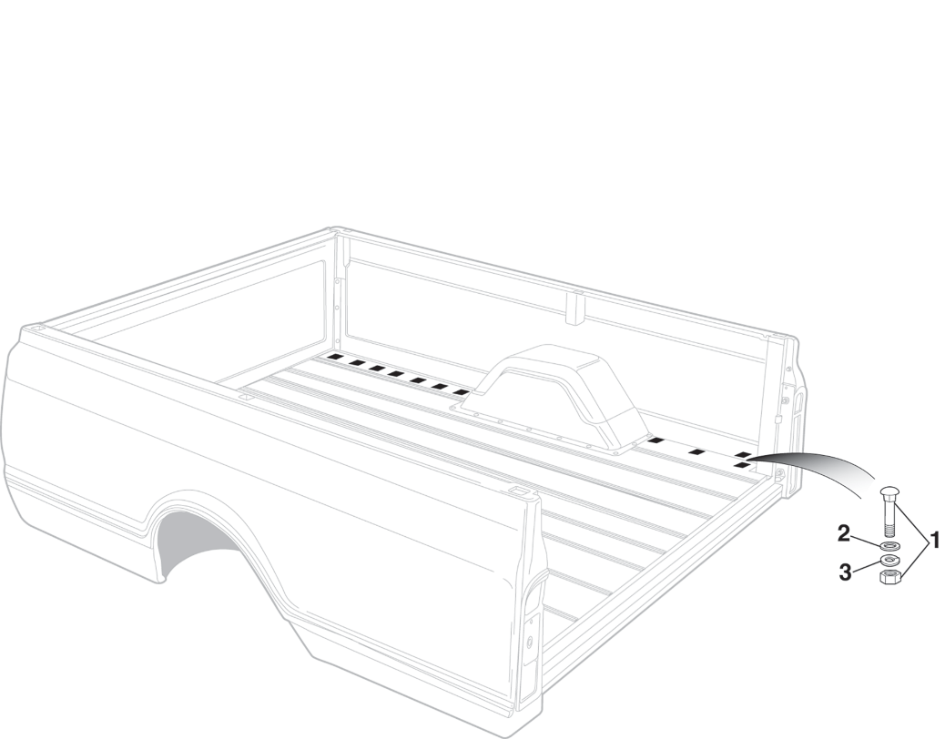Fleetside Bedside Attachment-Steel Floor