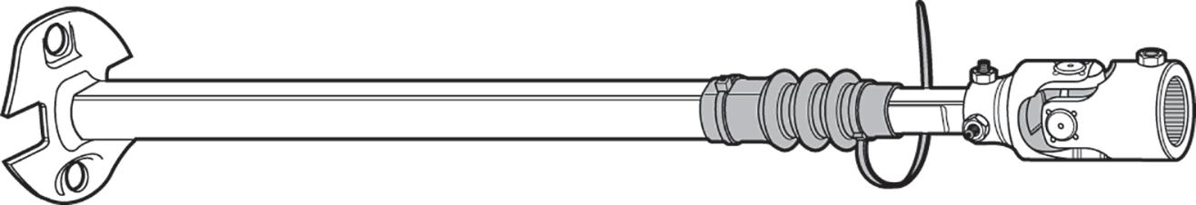 Heavy-Duty Steering Shaft Assembly