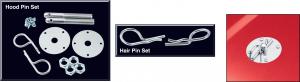Hair Pin Style Hood Pin Set