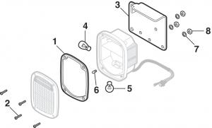 1977-87 Tail Light Components - Stepside