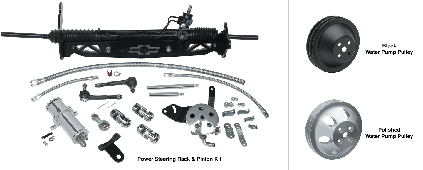 Power Rack and Pinion Steering Kit