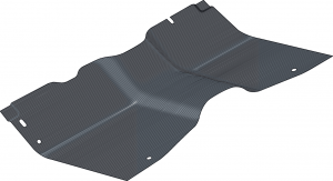 Column Shift Replacement Rubber Floor MAT for A 1973-1979 Ford 1//2-1-1//2 TON Pick UP Truck 2WD