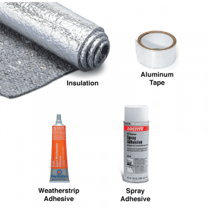 Multi-Purpose Heat and Sound Insulation