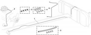 Pre-Bent Fuel Lines and Vacuum Advance Lines