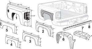 Steel Bed Components