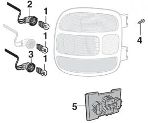 Tail Light Components - Stepside