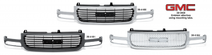 Grille - Models without C3 or Denali Package
