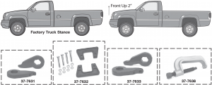 Front Leveling Kit … For Better Looks and Larger Tires