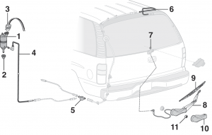 Rear Wiper and Components