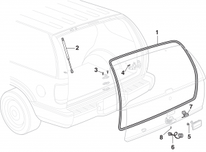 Liftgate Components