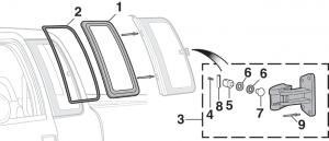 Side Window Rubber