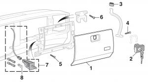 Glove Box Components
