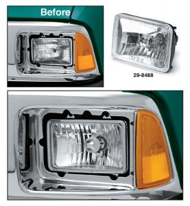 Custom Headlight for Sealed Beam Headlight Models