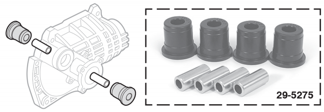 Front Differential Carrier Bushings