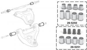 Polyurethane Control Arm Bushings