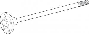 Rear Axle Shaft