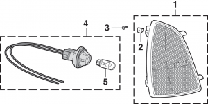 Front Sidemarker Lamp