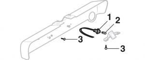 License Plate Lamp - Stepside