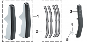 Front Bumper Guards and Components