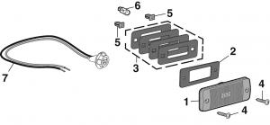 Rear Sidemarker Lamp