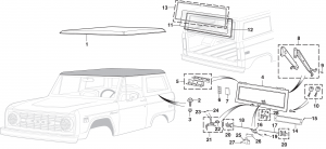 Hard Top Components