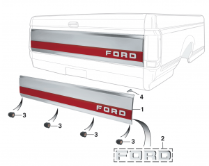 Tailgate Panel and Components