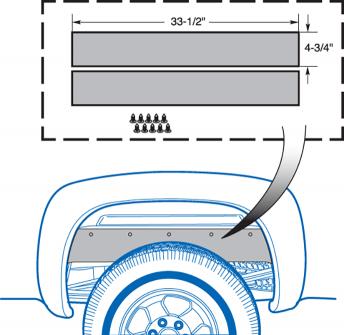 Body Gap Filler Set