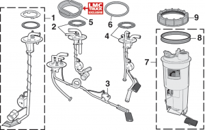 Fuel Sending Units and Components