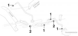 Automatic Trans Shift Linkage Bushing