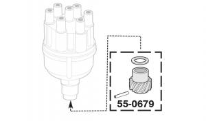 Distributor Gear Kit - 6 Cylinder