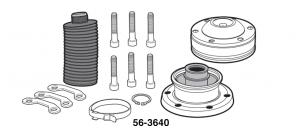 Front Driveshaft Components - 4WD