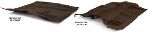 Dark Brown Molded Carpet