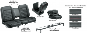 Front Bucket Seat Sets & Buddy Console