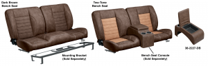 LMC Signature Series Front Bench Seats