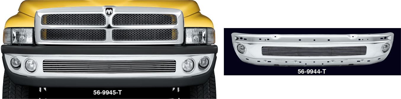 Custom Chrome Front Bumpers