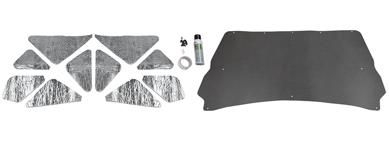 1994-02 Hood Insulation Kit-ABS