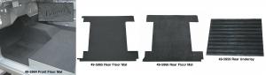 Bronco Sport Front and Rear Floor Mats