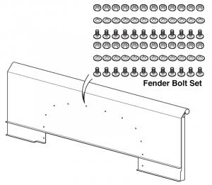 Fender Bolt Set