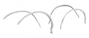 1987-96 Wheel Arch Molding Kit-Aluminum
