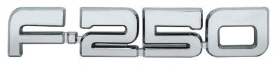 Fender Emblem - F250