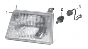 Headlight - Models with Composite Headlights