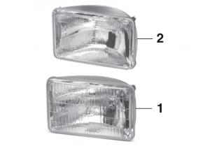Headlight - Models with Dual Headlights