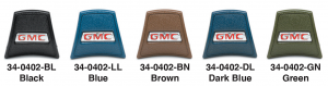 GMC Horn Button Caps